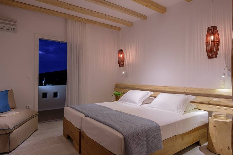 Double room at Hotel Orkos Beach